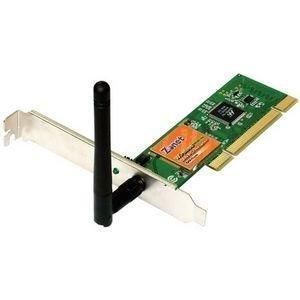 Zonet 802.11g 54Mbps Wireless LAN PCI Adapter