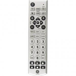 GE Universal Big Button Remote Control 24965 4-Device