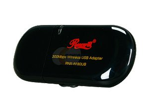 Rosewill RNX-N180UB (1T2R) IEEE 802.11b/g/n USB 2.0 Wireless Adapter