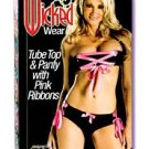 WICKED WEAR TUBETOP/ PANTY