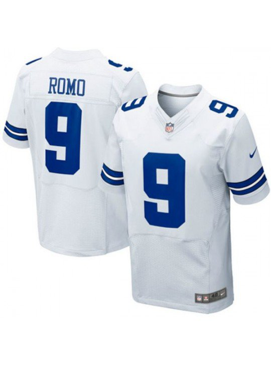 MEN S Dallas Cowboys  9 Tony Romo White Jersey 1c2ebfce9
