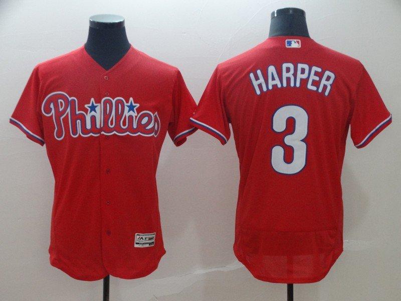 135aaa725 2019 Men s Philadelphia Phillies  3 Bryce Harper Flexbase Baseball Jersey