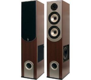 200 Watt 3-Way Bass Reflex Home Speakers