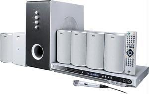 JWIN JDVD610 WIRELESS 5.1-CHANNEL HOME THEATER SYSTEM WITH KARAOKE FUNCTION