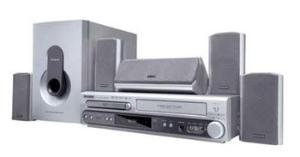 Magnavox MRD500VR DVD and VCR 300 Watts Home Theater System