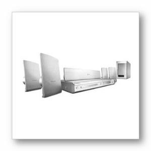Philips HTS3440 DivX Ultra DVD Home Theater System - (HTS3440/37)