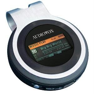 Audiovox 1GB MP3 Player with FM Tuner