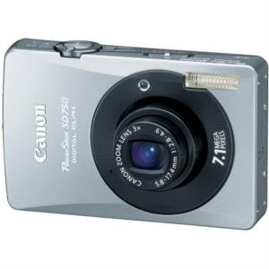 "Canon 7.1MP Digital ELPH Camer-a with 3x Optical Zoom Lens and 3.0"" LCD"
