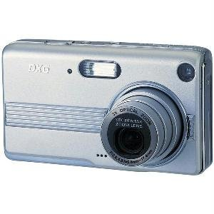 "DXG 5.1 MegaPixel Ultra-Slim Camera with 3x Optical Zoom and Large 2.4"" LCD"
