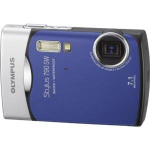 "Olympus 7.1MP All-Weather Camera with 3x Optical Zoom and 2.5"" HyperCrystal LCD"