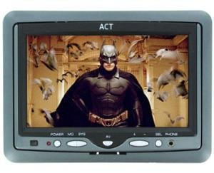 AUDIOBAHN ACTM7C 7 INCH HEADREST TFT LCD MONITOR