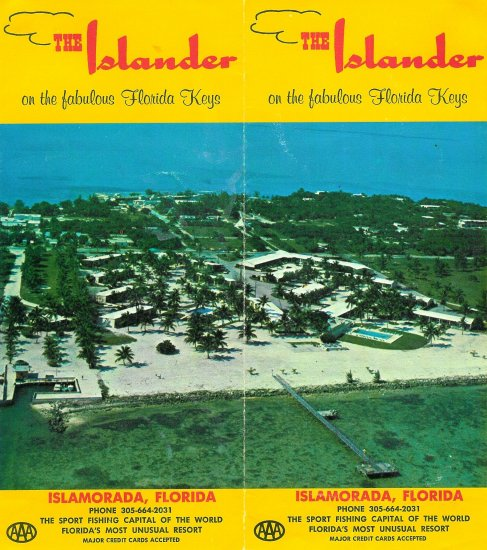 The Islander on the fabulous Florida Keys brochure