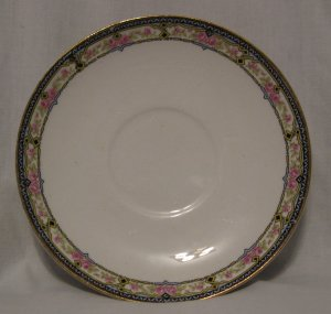 Crown Potteries Pattern #CRP26 Saucer