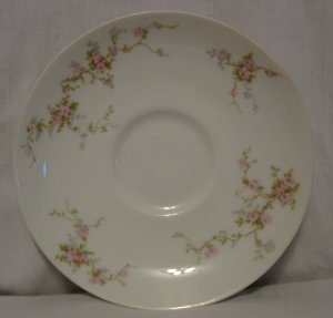 Theodore Haviland Limoges Saucer Pink Spray Pattern?