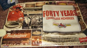 Busch Stadium Poster - 40 Years. Countless Memories