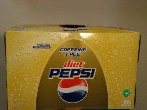 Caffeine-Free diet Pepsi (36 Pack)