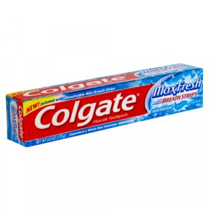Colgate Max Fresh w/mini breath strips (2 pack)
