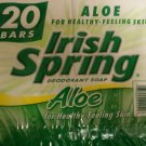 Irish Spring Soap with Aloe (20 bars)