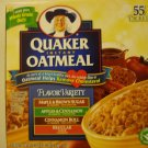 Quaker Outmeal Variety Pack (55 Packets)
