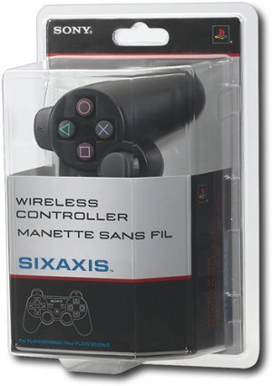 Sony Playstation 3 SIXAXIS Wireless Controller (Black)