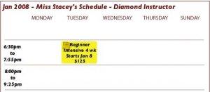 Bellydance Classes 4 weeks