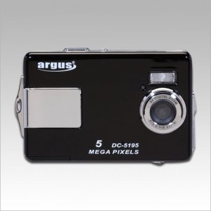 "Argus DC5195 Digital Camera - 5.0 Megapixel, 4x Digital Zoom, 2.0"" LCD"