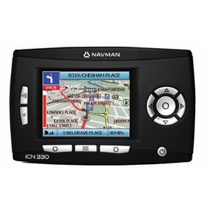 "Navman iCN 330 Portable GPS Unit 2.8"" TFT Screen"