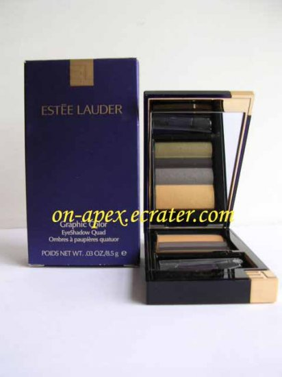 ESTEE LAUDER EYESHADOW QUAD #08 Urban Metals NIB
