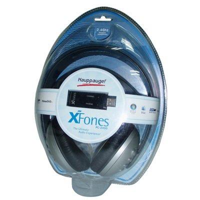 Hauppauge Xfones 2.4GHZ Pc Headphones USB2 Wrls Dolby Digital Sound