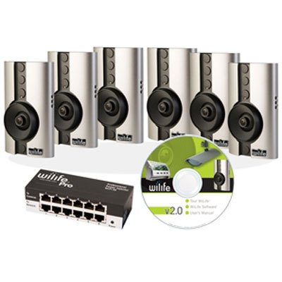 WiLife WLPIC-6X6 Pro Six-Camera Master System