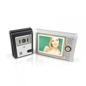 SVAT VISS7500 Hands Free Video Door Phone Intercom System w/5-Inch LCD
