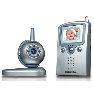 SecurityMan PalmWatch II 2.4GHz Wireless Color Baby Monitor System
