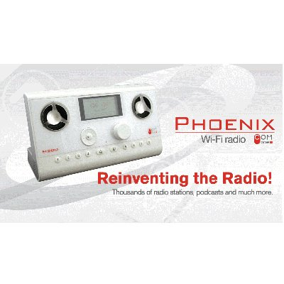 Com One Phoenix BPHX001A WiFi Radio (White)