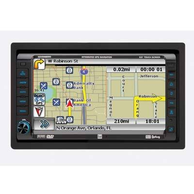 Dual XDVDN8290 AM/FM/DVD Receiver with 7-Inch Motorized LCD