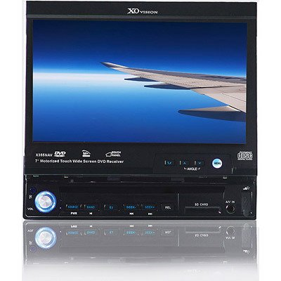 "XO Vison X355NAV 7"" In-dash Motorized Touch DVD"