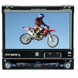"Dual Electronics   XDVD8181    7"" LCD DVD Touchscreen Receive"