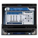 Phase Linear UV8 MultiMedia Receiver with 7-Inch Touch Screen (Black)