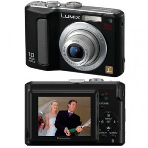 Panasonic Lumix DMC-LZ10 Digital Camera - Black