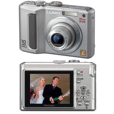 Panasonic Lumix DMC-LZ10S Digital Camera Silver