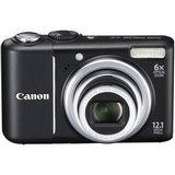 Canon PowerShot A2100 IS Point & Shoot Digital Camera - Black