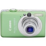 Canon PowerShot SD1200 IS Digital Camera - Green