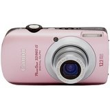 Canon PowerShot SD960 IS Digital Camera - Pink