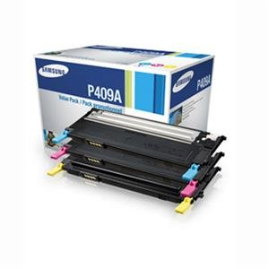 Samsung Value Pack Color Toner Cartridge CLT-P409A