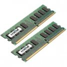 Crucial 4GB DDR2 SDRAM Memory Module CT2KIT25672AB667S