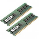 Crucial 2GB DDR2 SDRAM Memory Module CT2KIT12872AB667S