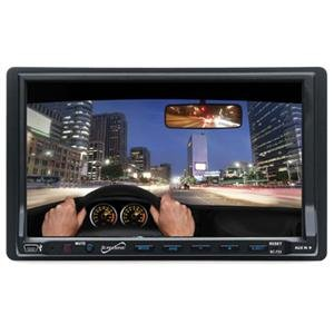 """7"""" Touch Dbl Din LCD DVD/MP3/C"""