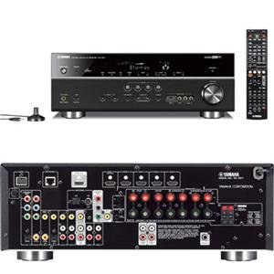 Yamaha RX-V671 3D A/V Receiver - 90 W RMS - 7.1 Channel
