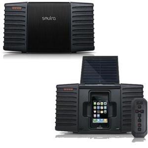 Solar Pwred Sound System W/Bag