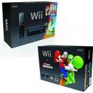 BLK Wii w/ New Super Mario Bro
