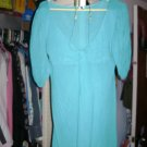 Cute blue top sz M